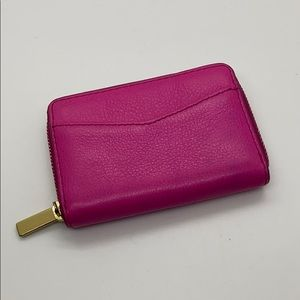 Fossil hot pink small wallet